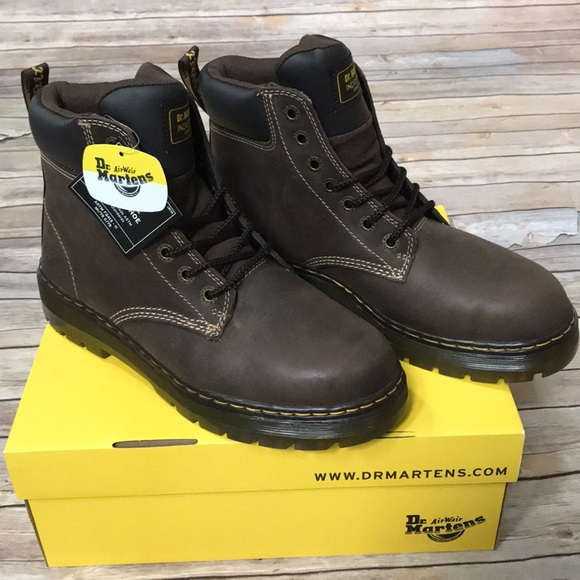 d6b806e5258 Size US 10 Dr. Martens Winch Steel Toe Work Boot NWT